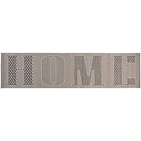 Just Contempo Home Runner, Grey, 60x230 cm by Just Contempo