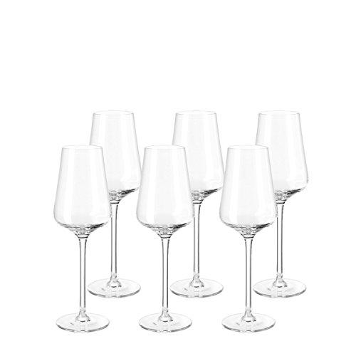Leonardo Puccini Digestifglas,  6-er Set, 220 ml, spülmaschinenfest,Teqton-Kristallglas, 069556 Sherry Glas