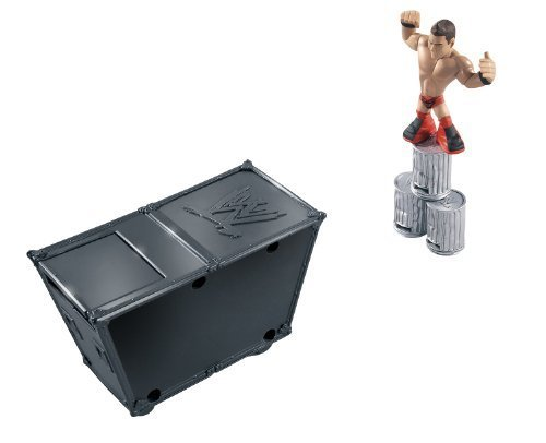 wwe-rumblers-smack-attack-playset-with-the-miz-figure-by-mattel