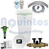 Grünbeck Enthärtungsanlage softilQ:SC18 Wasserenthärtungsanlage-Enthärtungsanlage-Entkalkungsanlage-Weichwasseranlage inkl. Grünbeck Rückspülfilter Boxer in 1