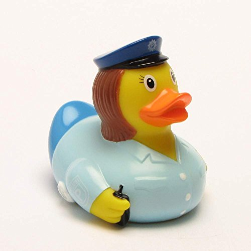 Lilalu 8x 8cm/50g Sammler und Polizistin Rubber Duck Baby Badespielzeug
