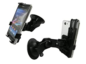 mobilitii 2 in 1 Set Auto KFZ-Halterung für Sony Xperia Z1 Compact plus KFZ-Ladekabel