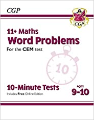 New 11+ CEM 10-Minute Tests: Maths Word Problems - Ages 9-10 (with Online Edition)