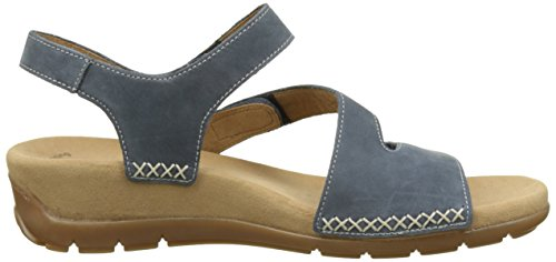 Gabor Shoes Fashion, Sandales Femme Bleu (river 36)