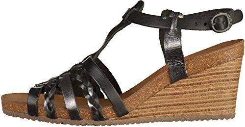 Kickers 548981-50 femmes Sandale Noir