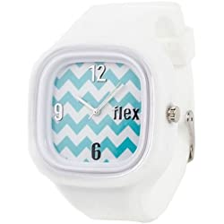 Flexwatches Chevron white