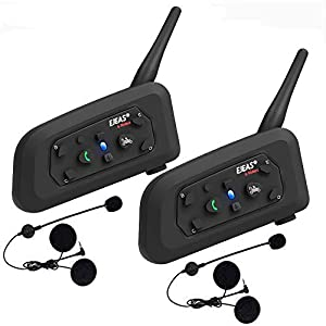 V6 Pro Intercomunicador Bluetooth Motocicletas,