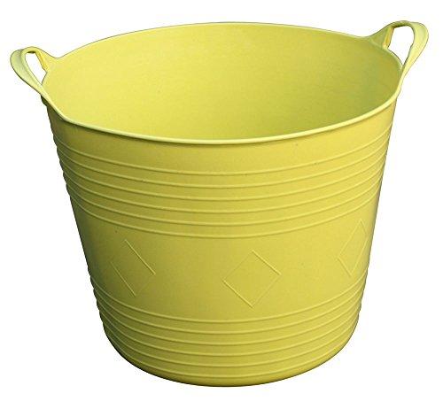 Universalkorb, Kunststoff Flexi, Gartenabfallkorb, Mehrzweckkorb, Erntekorb,27 L