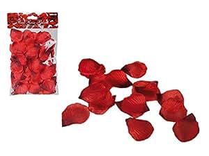 100 Petali rosa ROSSA sexy petalo rosso nozze camera ROSSI ROSSO