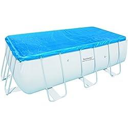 Bestway Rectangular Frame - Cobertor invierno para piscinas de 412 x 201 cm
