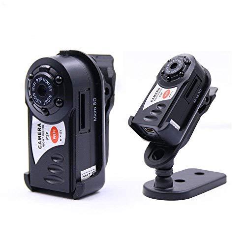 YOZOOE Webcams Q7 WiFi Wireless Recorder Mini DV DVR Kamera Kleinster Nachtsicht Video Camcorder mit integriertem Mikrofon