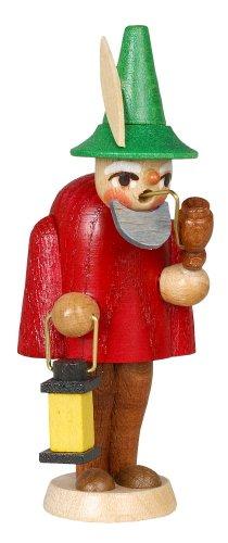 Un'altezza rossa di Elf della figurina dell'armadietto di esposizione di 9.5 montagne del minerale metallifero di Natale di Seiffen della scatola della regolazione di cm NUOVE