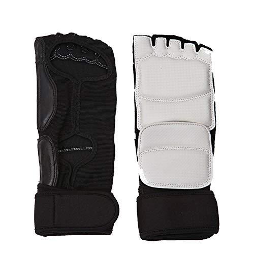 Whiie891203 Winter-Handschuhe, warm, für Kinder und Erwachsene, Taekwondo Sparring, Karate Training, Fuß-Handschutz, Schutz - XS Fußschutz
