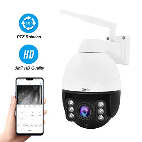 PTZ WiFi IP-Kamera 3MP im Freien, HD-Mini-Hochgeschwindigkeits-Dome-Kamera
