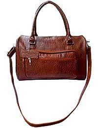 Stylogy Women's Handbag (Dark Brown)