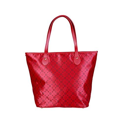 En El Precio Barato De Italia Venta Manchester Laura Biagiotti LB17W101-26 Shopping bag Donna Rosso Calidad Para La Venta Libre Del Envío Gran Descuento Precio Barato X8Cr6zoOgl