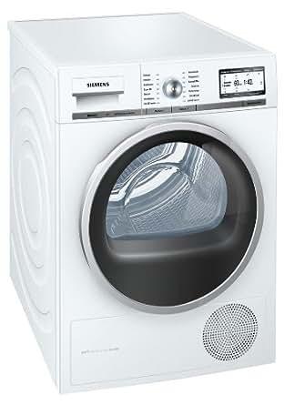 Siemens  iQ 800 WT48Y7W1 Wärmepumpentrockner / A+++ / 8 kg / weiß / Kondensator selbstreinigend / Soft Dry Trommelsystem / Eco Plus