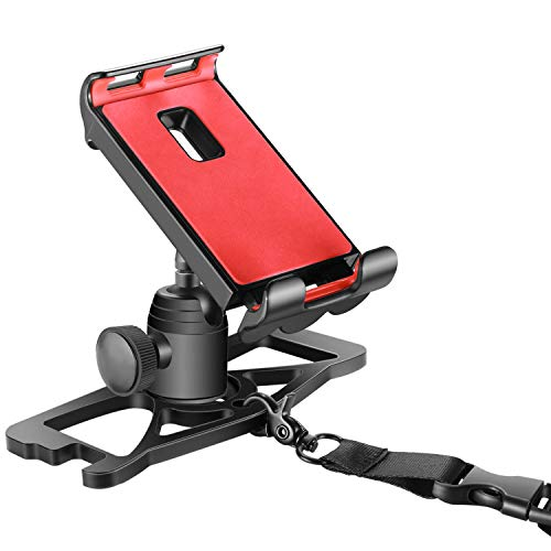 Supporto Bici Smartphone 10089929 Supporto Dji Mavic Pro per Tablet da 4-12', con Telecomando e Supporto per Clip per Smartphone iPad e Tablet Galaxy, Rotazione a 360°, Nero Compatibile co