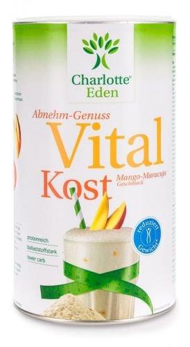 E Charlottes (Charlotte Eden Vitalkost Mango-Maracuja 14 Portionen, 490 g)