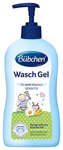 Bübchen Wasch Gel,2er Pack (2x 400 ml)
