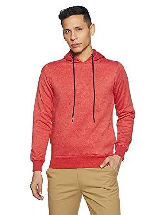 Qube By Fort Collins Men's Sweatshirt (929245 SMU_Red Milange_M)