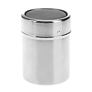 Prosperveil Mini Stainless Steel Chocolate Shaker Sugar Powder Flour Sifter With Cover