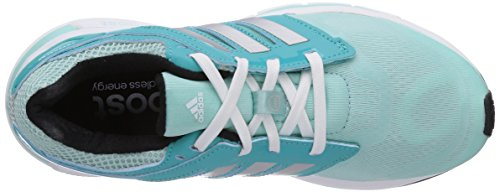 adidas Revenergy Techfit, Chaussures de running mixte adulte Turquoise (Frost Blue F14/Metallic Silver/Black 1)