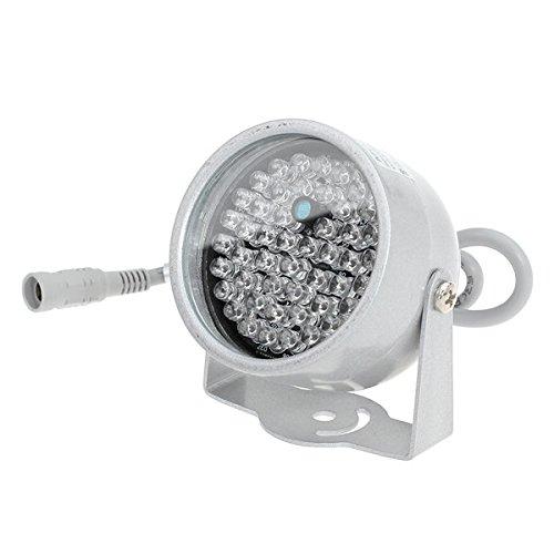 PhilMat 48 LED visione notturna di IR della lampada della luce illuminatore ad infrarossi per CCTV