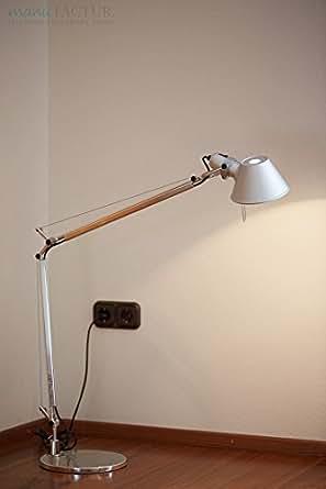 Artemide tolomeo lampada tavolo con base alluminio illuminazione - Amazon lampade da tavolo ...