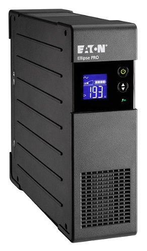 Eaton Ellipse PRO 1600 DIN - Unterbrechungsfreie Stromversorgung (USV) 1600 VA mit Überspannungsschutz (8 Schuko Ausgänge) und Spannungsregelung (AVR) -