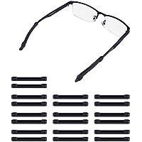 Weiye - Almohadillas antideslizantes de silicona para gafas y gafas, 20 unidades