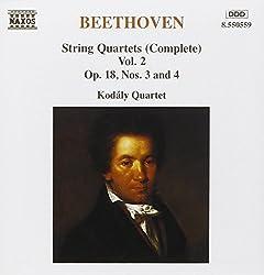 Beethoven Streichquartette Vol 2 Kodaly