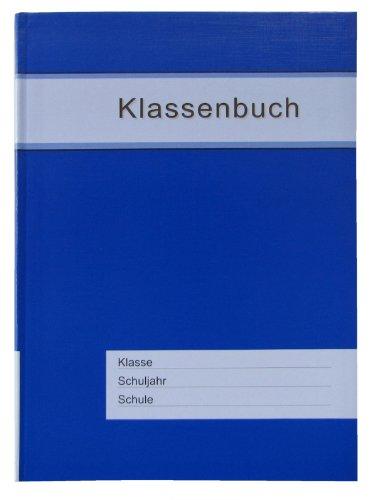 Klassenbuch Standard mit blauem Umschlag, für alle Schulformen - 11 Std./Tag