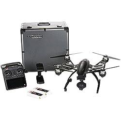 Yuneec Typhoon 4K - drones con cámara (Negro, Hacia atrás, Descendente, Adelante, Giro a la izquierda, Giro a la derecha, Ascendente, 2400, 5800, Polímero de litio, 3840 x 2160 Pixeles, MicroSD)