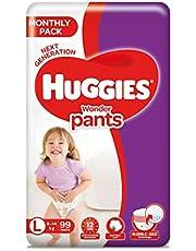 Huggies Wonder Pants Mega Jumbo Pack Large Size Diapers, 99 Count