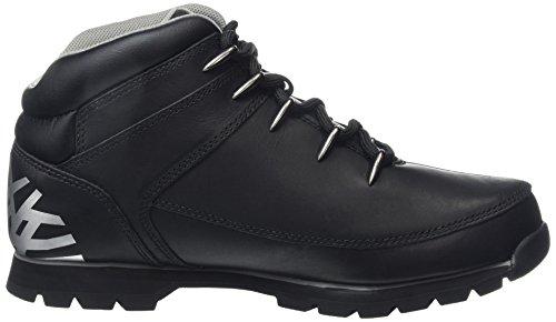 Timberland Herren Euro Sprint Hikerblack Reflective Chukka Boots Schwarz (Black Reflective)