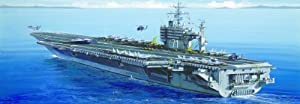 Italeri 5531 - Maqueta de U.S.S. Roosevelt escala 1:720 importado de Alemania
