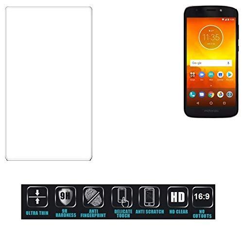 Für Motorola Moto E5 Dual SIM Schutzglas Glas Schutzfolie Glasfolie Bildschirmschutzfolie Bildschirmschutz Hartglas Tempered Glass Verb&glas für Motorola Moto E5 Dual SIM 16:9 Format, bedeckt nicht