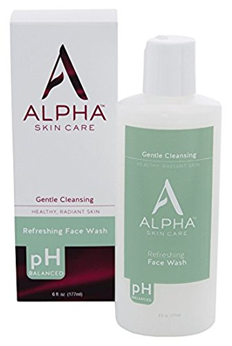 Alpha Skin Care Refreshing Face Wash, 6 ounce