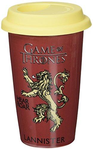 Game Of Thrones Tazza da viaggio multicolore, motivo: Casa Lannister