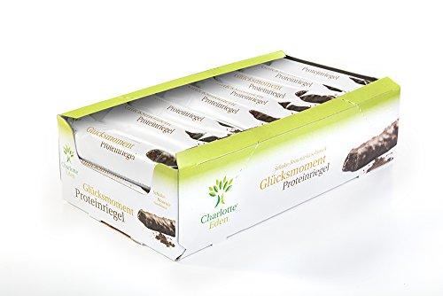 Charlotte Eden Glücksmoment Proteinriegel Schoko-Brownie, 21er Pack(21 x 45 g)