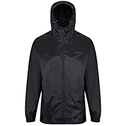 Regatta Men's Pack It Jkt III Jacket, Black, L