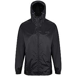Regatta Men's Pack It Jkt III Jacket, Black, L