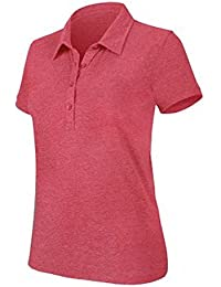 Kariban Damen Kurzarm Jersey Blend Polo Shirt