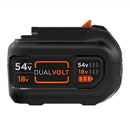 Black+Decker BL1554-XJ – Batería de carril Dual Volt 54V 1,5Ah Litio