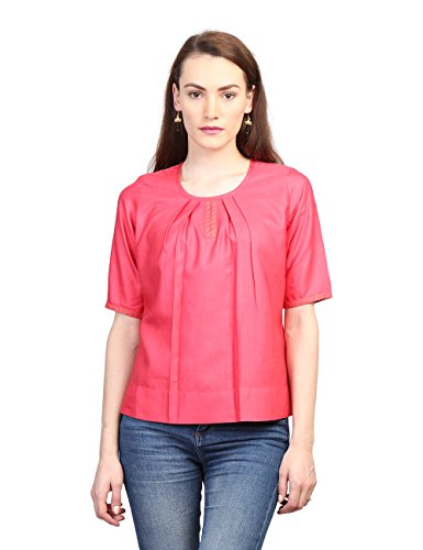 Fabindia Women's Tussar Cotton Top