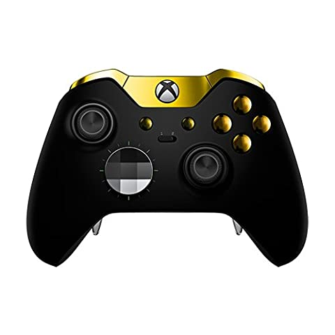 Xbox One Elite Controller - Matte Black & Gold Edition
