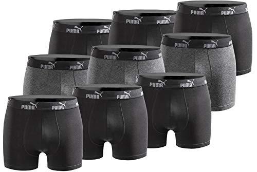 PUMA Herren Boxershort Limited Statement Edition 9er Pack - Black - Gr. L