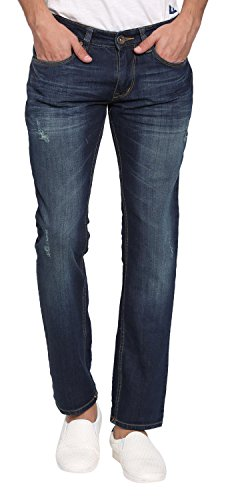 Abof Men's Slim Fit Jeans (ABOFS16AMCWJS107480140, Blue, 40)  available at amazon for Rs.507