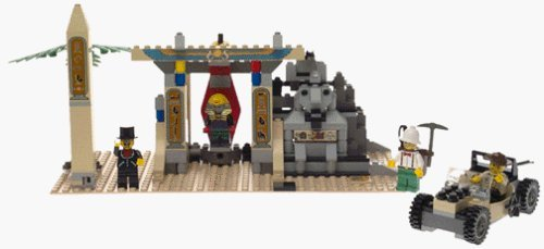 Die Mummys Grab (LEGO Abenteurer Serie–Mummy 's Tomb (5958))